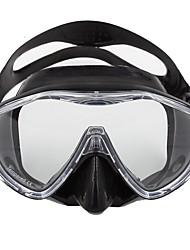 Máscara de Snorkel Máscaras de mergulho Portátil Impermeável Fácil de Transportar Mergulho e Snorkeling Fibra de Vidro Silicone para