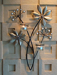 Недорогие -Декор стены Железо Простой Предметы искусства, Металлические украшения на стену из 1