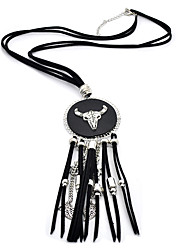 cheap -Men's Women's Leather Pendant Necklace Chain Necklace  -  Animal Design Basic Animal Brown Black Necklace For Wedding Daily