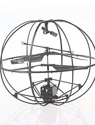 RC Drone 286 3Canaux 6 Axes 2.4G Quadri rotor RC En avant en arrière Mode Sans Tête Flotter Quadri rotor RC Télécommande Câble USB 1