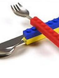 baratos -Blocos de Construir Pratos Toy & Tea Sets Brinquedos Rectângular Peças Não Especificado Dom