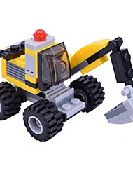 cheap -Building Blocks Toys Excavating Machinery ABS Children's Pieces