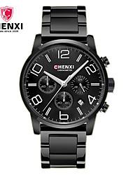 CHENXI® Homme Montre Habillée Smart Watch Montre Tendance Chinois Quartz Calendrier Alliage Bande Charme Cool Pour tous les jours Luxe