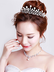 cheap -Crystal Imitation Pearl Tiaras Headbands 1 Wedding Party / Evening Headpiece