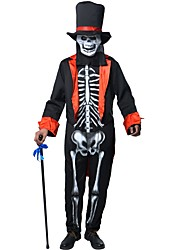 Wizard/Witch Ghost Outfits Male Halloween Christmas Festival/Holiday Halloween Costumes Patchwork