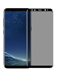 Недорогие -Защитная плёнка для экрана Samsung Galaxy для S8 Plus Закаленное стекло 1 ед. Защитная пленка для экрана 3D закругленные углы Anti-Spy