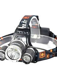 cheap -Boruit® Headlamps Headlight LED 3000 lm 4 Mode Xenon Cree XM-L L2 Cree XP-G2 R5 with Battery and USB Cable Professional Adjustable High