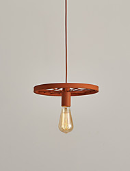 cheap -Single Heads Macaron Orange Color Vehicle Wheel Pendant Lamp for the Living Room / Bedroom /Canteen Room Decorate Creative Drop Light
