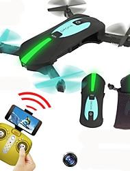 Drone JY018 4 canali 6 Asse Con videocamera HD 720P Altezza Holding WIFI FPV Controllo Di Orientamento Intelligente In Avanti Giravolta