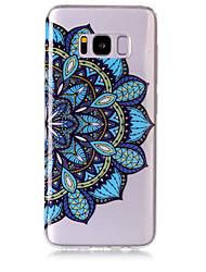 Custodia Per Samsung Galaxy S8 Plus S8 IMD Transparente Fantasia/disegno Custodia posteriore Fiori Mandala Morbido TPU per S8 S8 Plus S7