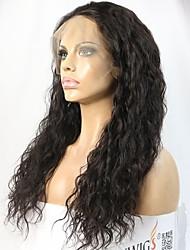 cheap -Women Human Hair Lace Wig Brazilian Remy 360 Frontal 180% 150% Density Layered Haircut Curly Wig Black Short Medium Length Long Natural