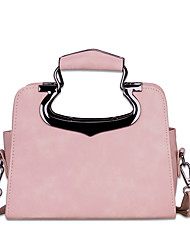 cheap -Women's Bags PU Shoulder Bag Sequin Black / Blushing Pink / Gray