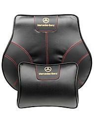 автомобильный Подушки для подголовника и талии Назначение Mercedes-Benz Все года GLC Класс E Класс C Класс S GLA GLK Подголовники для авто