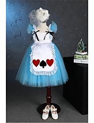 vestito dalla ragazza del fiore di lunghezza del tè della principessa - collo di collo del manicotto dei manicotti di Tulle con il fiore di anbaby