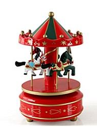 cheap -Music Box Horse Carousel Kid's Adults Kids Gift Unisex