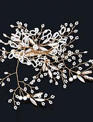 cheap -Rhinestone Alloy Flowers Hair Clip Hair Claws Headpiece