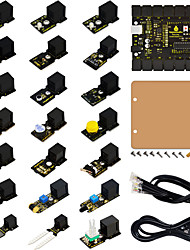 EASY-Plug Starter Learning Kit for Arduino W/ ControllersensorsUSBCablesPDF