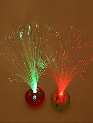 em todo o céu estrela luz lanternas de fibra óptica decoração de presentes de férias