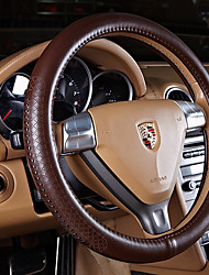 cheap -Steering Wheel Covers Genuine Leather 38cm Black / Beige / Coffee For Nissan All Models All years