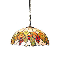 cheap -Diameter 45cm Tiffany Pendant Lights Glass Lamp Shade Living Room Bedroom Dining Room light Fixture