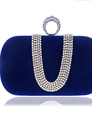 cheap -Women Bags Polyester Clutch Buttons for Casual All Seasons Blue Black Purple