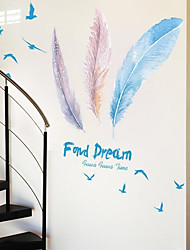 Cartoon Wall Stickers Plane Wall Stickers Radiation Protection,Acrylic Material Home Decoration Wall Decal