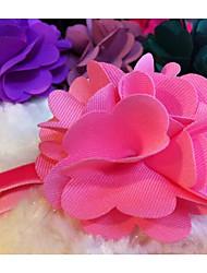 Собака Ошейники Регулируется Цветы Ткань Лиловый Красный Синий Розовый