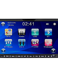 rungrace 7 '' schermo touch screen 2din slide-down sistema multimediale auto con dvd / radio / bluetooth / volante contol rl-202dnn07