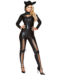 cheap -Inspired by K Eingt Anime Cosplay Costumes Cosplay Suits Fashion Long Sleeves Leotard/Onesie For Female