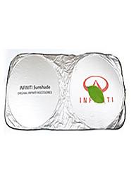 Недорогие -автомобильный Козырьки и др. защита от солнца Козырьки для автомобилей Назначение Infiniti Все модели Алюминий