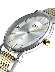 cheap -Women's Fashion Watch Dress Watch Wrist watch Japanese Quartz Large Dial Stainless Steel Band Casual Elegant Minimalist White