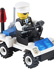 Building Blocks Police car Toys Vehicles Non Toxic Classic New Design Kids Adults' 36 Pieces