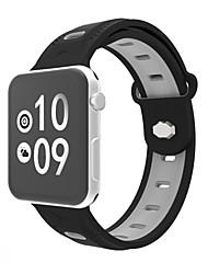 economico -fascia da orologio per la serie di orologi da mela serie 3 2 1 cinturino da polso da banda in silicone sport