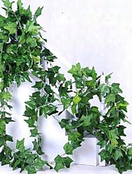 Недорогие -1 Филиал Полиэстер Pастений Цветы на стену Искусственные Цветы