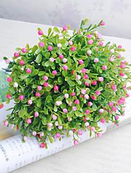 economico -24cm 10 pc 5 rami / pc decorazione domestica miraflors di orchidea dei fiori artificiali