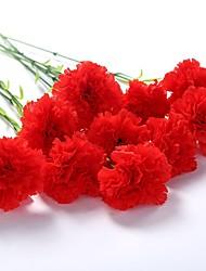 Недорогие -Искусственные Цветы 5 Филиал Классический Гвоздика Букеты на стол