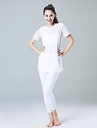 economico -Yoga Set di vestiti Asciugatura rapida Leggero Elastico Traspirabilità Elastico Abbigliamento sportivo Per donna-CONNY,Corsa Yoga Pilates