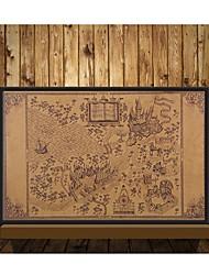 Недорогие -карта волшебного мира Гарри Поттер фильм плакаты украшение бескаркасный восстановление древних путей стены стикеры