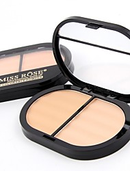 cheap -2 Powder Concealer/Contour Pressed Powder Matte Mineral Pressed powder Long Lasting Face