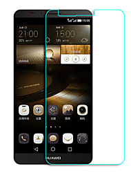 levne -Screen Protector pro Huawei Huawei Mate 7 Tvrzené sklo 1 ks Fólie na displej High Definition (HD) / 9H tvrdost / 2.5 D zaoblený okraj