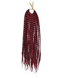дредлоки Косы переплетенный Афро Гавана Твист Вино 35 см Волосы для кос Наращивание волос