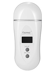 Kemei Hair Removal Women Electric Epilator Permanent Depilation Machine Rechargeable Infrared Body Hair Cutter