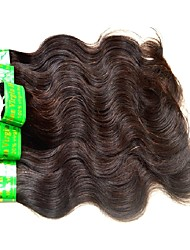 cheap -7a indian virgin hair body wave 6pieces 300g lot raw indian remy humam hair bundles weaves natural black color 50g/pcs