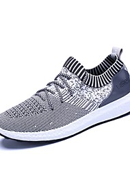 cheap -Unisex Shoes Knit Summer Light Soles Athletic Shoes Walking Shoes for Athletic Black Dark Blue Gray