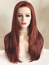cheap -Uniwigs Women Synthetic Wig Lace Front Long Straight Chocolate Natural Wigs Costume Wig
