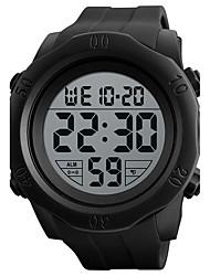 SKMEI Муж. Спортивные часы электронные часы Цифровой силиконовый Группа Черный Зеленый