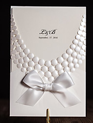 cheap -Wrap & Pocket Wedding Invitations Invitation Cards Classic Style Embossed Paper