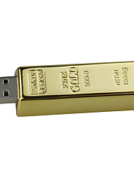 cheap -16gb Ssb Flash Drive Bullion Gold USB 2.0 Flash Memory Drive Stick U Disk Pen drive
