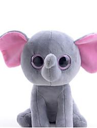 abordables -Eléphant Marionnettes / Animaux en Peluche Mignon / Amusement Fille Cadeau