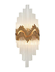 cheap -QIHengZhaoMing Crystal / Simple / Modern / Contemporary Wall Lamps & Sconces Metal Wall Light 110-120V / 220-240V 3W